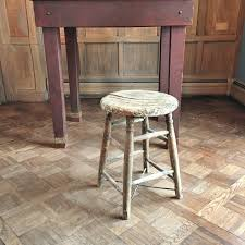Shabby Chic Stools by Vintage Wood Stool Shabby Chic Stool Perfectly Distressed Stool