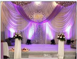 wedding backdrop curtains 20ft 10ft luxury wedding backdrop curtains with swags event and
