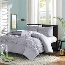 bedroom stunning grey comforters at walmart with iron headboard
