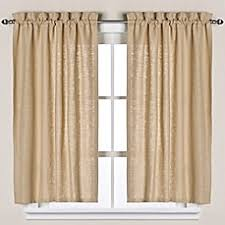 Half Height Curtains Kitchen U0026 Bath Curtains Bed Bath U0026 Beyond
