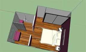salle d eau chambre plan chambre parentale avec salle de bain et dressing 7 la salle