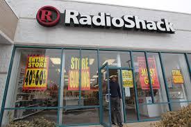 radioshack files for bankruptcy faces liquidation upi