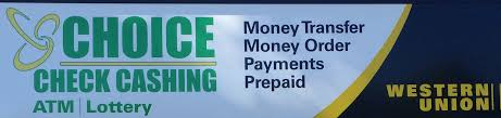 choice check cashing home