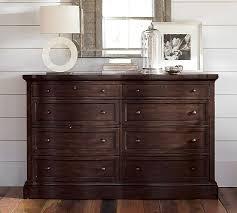 dresser bedroom furniture banks extra wide dresser pottery barn
