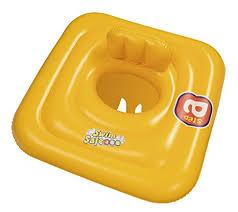 bouée siège bébé bestway bouée siège gonflable pour bébé carrée 69 x 69 cm amazon