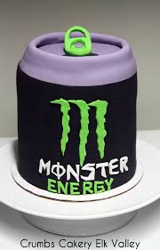 birthday cake drink monster energy drink cake u2013 copy crumbs cakery u0026 cafe fernie bc