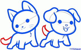 how to draw kawaii animals step by step anime animals anime