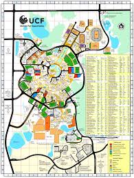 Florida State University Campus Map by University Of Central Florida Ucf Maplets