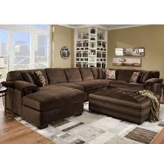 Corinthian Sofa 3 Piece Rhino Beluga Deluxe Sectional By Corinthian At Furniture
