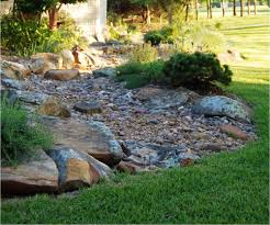 dry stream bed gallery dubberley landscape plano texas