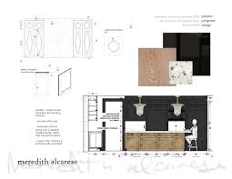 drawings details and furniture specs meredith alcarese archinect