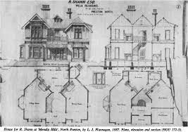 modern house plan section elevation u2013 modern house