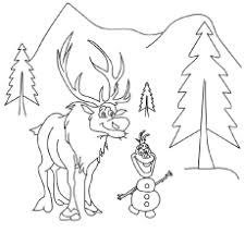 frozen cast coloring sheets coloring pages ideas