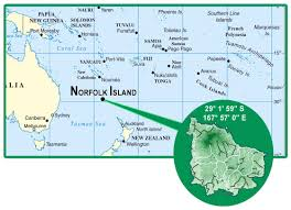 American Samoa Map Maps Of Norfolk Island Map Library Maps Of The World