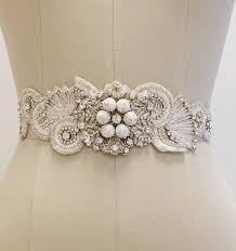 bridal sash erin cole bridal sashes belts beaded sash with chatan balls