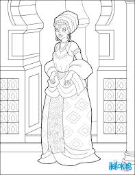 african princess coloring pages hellokids com