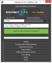 exhibitcore floor planner free and exhibitcore floor planner publisher 3ds max autodesk app store