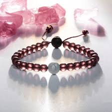 pink glass bead bracelet images Live lokai the glass bead bracelet has a frosted matte