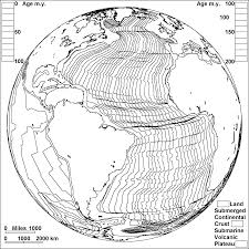 sea floor spreading in the atlantic coloring page earth