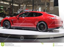 porsche panamera 2017 gts red porsche panamera gts editorial stock image image of engine