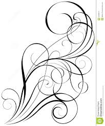 swirl art design stock vector image 54996575