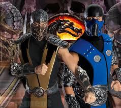 Scorpion Halloween Costume Scorpion Costume Mortal Kombat Video Game Ninja