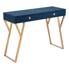 Blue Console Table A11143 Asti Console Table Navy Blue