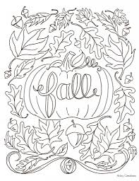 autumn coloring pages lezardufeu com