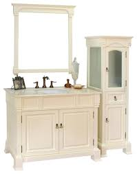 Traditional Bathroom Vanities by 42 Inch Single Sink Vanity Wood Traditional Bathroom Vanities
