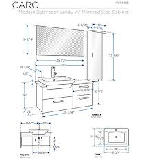 Standard Height For Cabinets Standard Bathroom Cabinet Sizes Nrtradiant Com