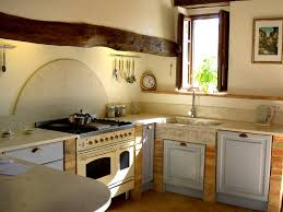 closed kitchen design