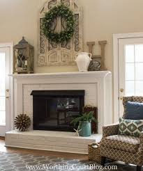 Fireplace mantel decorating ideas home inspiring fine ideas about