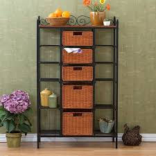 Bookcase With Baskets 45 Best Storage Shelves With Baskets Images On Pinterest Storage
