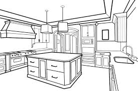 100 kitchen drawings drawing pictures of the kitchen the