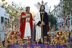imagenes de jesus ante pilato diario de pasión semana santa de sevilla hoy vía crucis de las