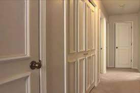 kitchen interior doors how to make a flat door into a panel door diy projects