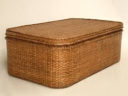 Rattan And Glass Coffee Table by Coffee Tables Ideas Awesome Wicker Coffee Table With Storage