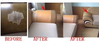 reparation canape cuir cuir autocollant pour canapé maison image idée