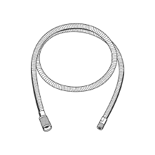 Friedrich Grohe Grohe Ladylux Europlus Hose 46092000 The Home Depot