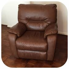 Leather Electric Recliner Chair Dfs