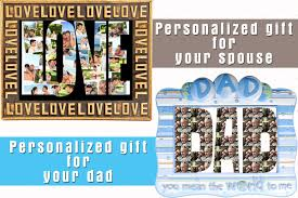 personalized gift ideas personalized photo collage gift ideas for your loved ones