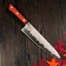 grandsharp 8 inch german steel chef knife japanese imitational