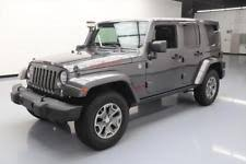 jeep rubicon 4x4 4 door jeep wrangler unlimited rubicon ebay