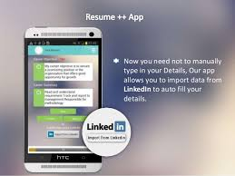 Resume Apps Resume A Resume Developer Android App Amazing Features