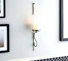 Silver Wall Sconce Candle Holder Silver Wall Sconces For Candles S S Silver Wall Sconce Candle