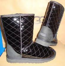 s ugg australia leather boots ugg australia s patent leather boots ebay