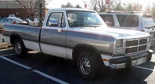 Ram Dodge Pickups 1981 93 Ram Pickup Wikiwand
