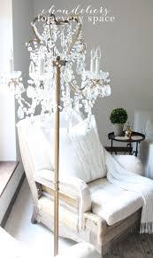chandelier floor lamp decor objects pinterest floor lamp