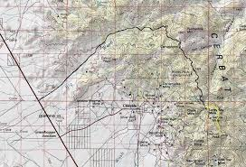 Kingman Arizona Map by Hiking Cherum Peak Arizona Climbing Information