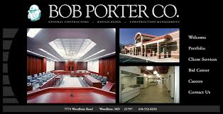 bob porter company general contractors baltimore maryland